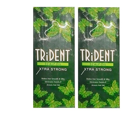 TriDent Scalp Oil Xtra Strong 140 ml pack of 2