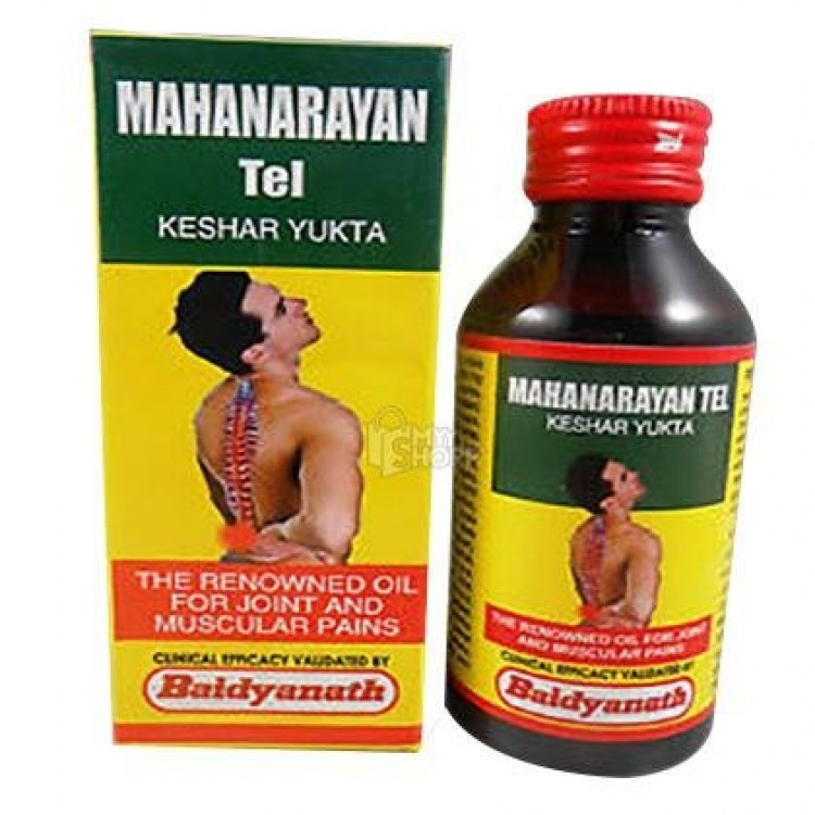 MAHANARAYAN TAILA KESHAR YUKTHA 50 ML PACK OF 3