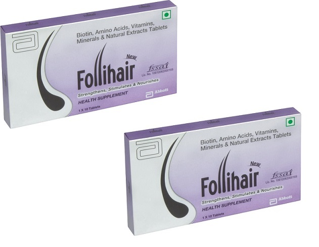 Follihair New Tablets 30'S   2x15N  PACK OF 2