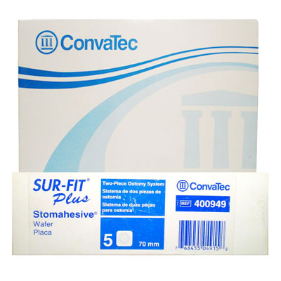 Convatec Stomahesive Flange 70mm Pack Of 5 {Code:400949}