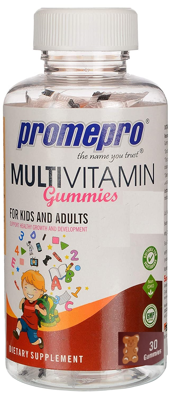 Promepro Multivitamin Gummies - Mixed Fruit Flavour, 30 Gummies