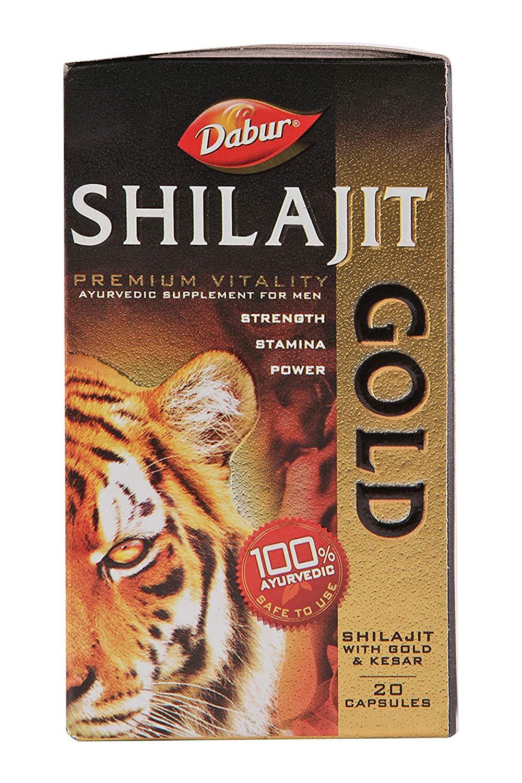 Dabur Shilajit GOLD 20 CAPSULES