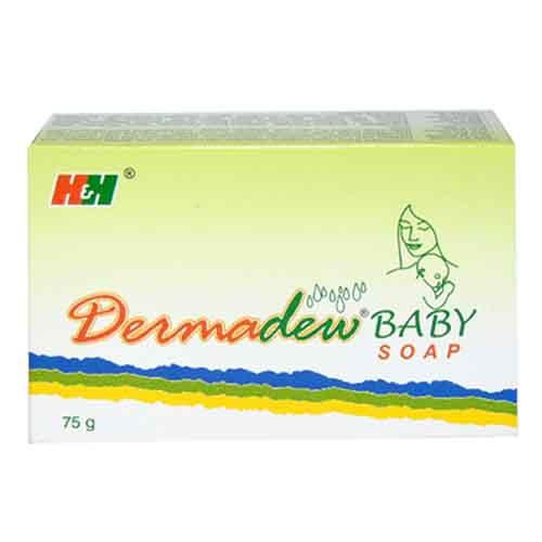 Dermadew Baby Soap 75gm pack of 2