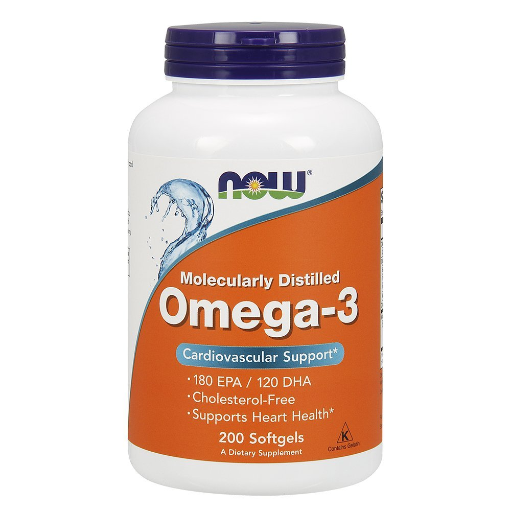 Now Foods Omega3 Cardiovascular Support 200 Softgels