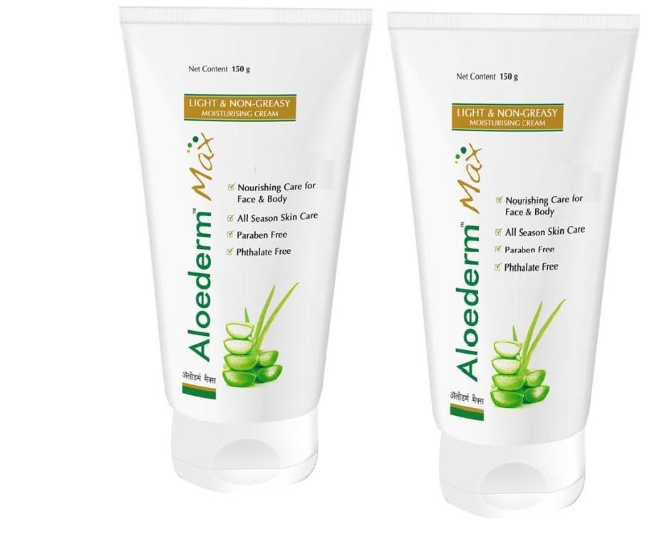 Aloederma Max Moisturising Cream 150g  Pack Of 2