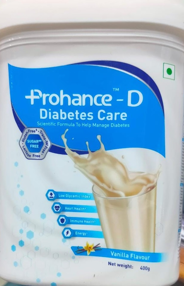 Prohance D Vanilla  Flavour 400g