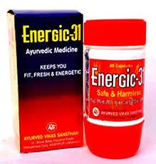 Energic31 Ayurvedic Medicine 80  capsules