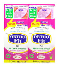 Ortho Fit Oil 70ml Pack Of 2