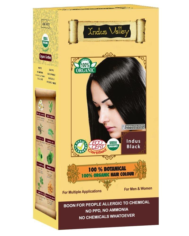 Indus Valley Organic Indus black hair color