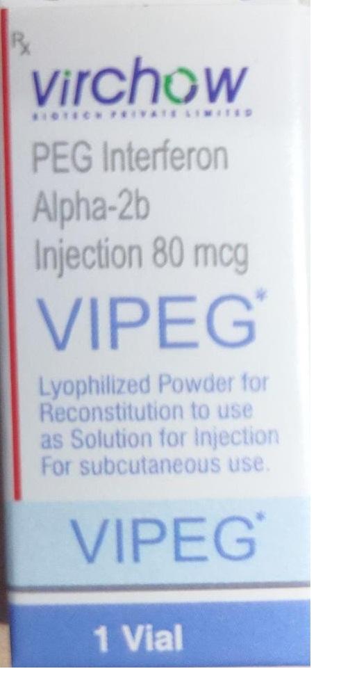 VIPEG PEG Interferon Alpha-2b Injection 80mcg