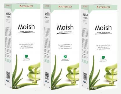 Moish Herbal Moisturizer 200 ml  Pack Of 3