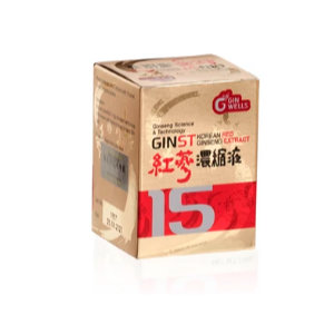 GINST 15 Korean Red Ginseng Extract   100 gms