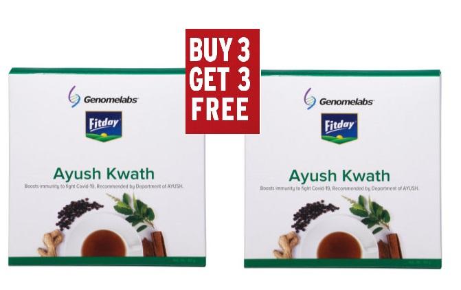AYUSH  KWATH Buy 3 Get 3 Free