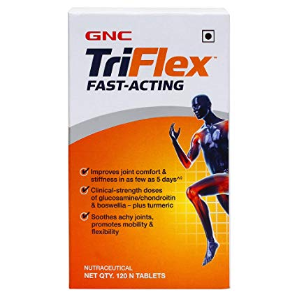 GNC Triflex Fast -Acting 120 TABLETS