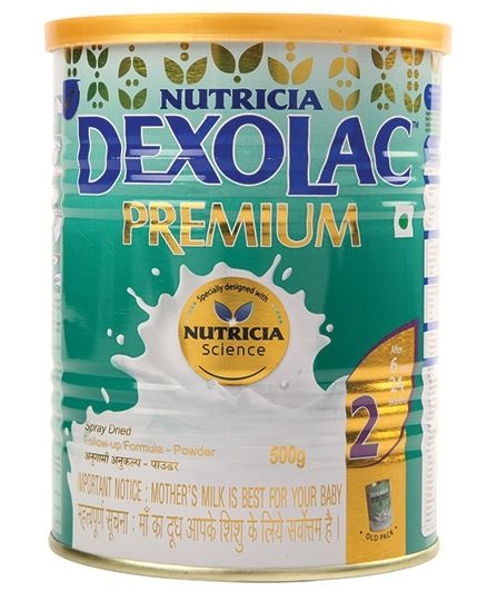 DEXOLAC PREMIUM 2 Follow Up Formula  500 Grams