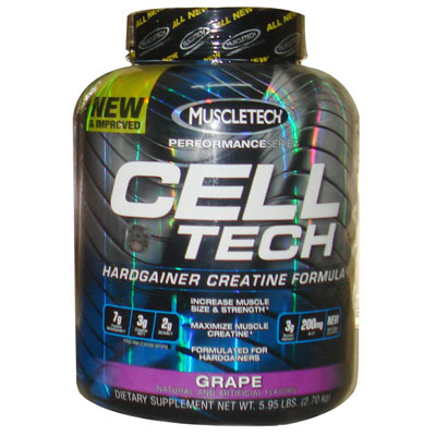 Muscletech Cell Tech Grape 2700gm