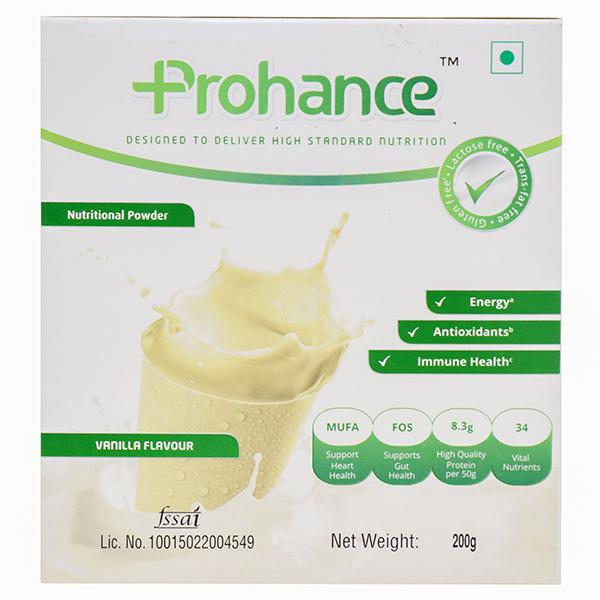 Prohance vanilla flavour 200 G PACK OF 2