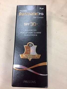 Sunmate PG Spf 30 GelCream