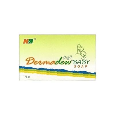 Dermadew Baby Soap 75g Pack of 4s