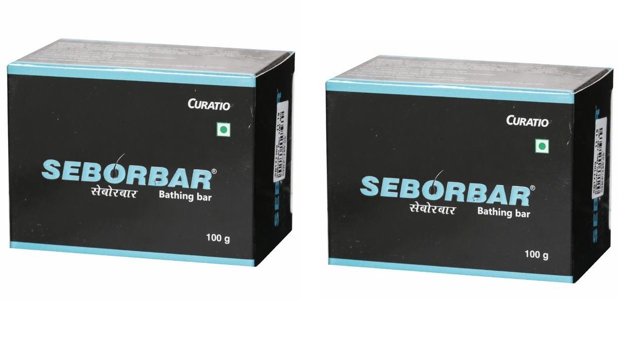 Seborbar soap 100gm Pack of 2