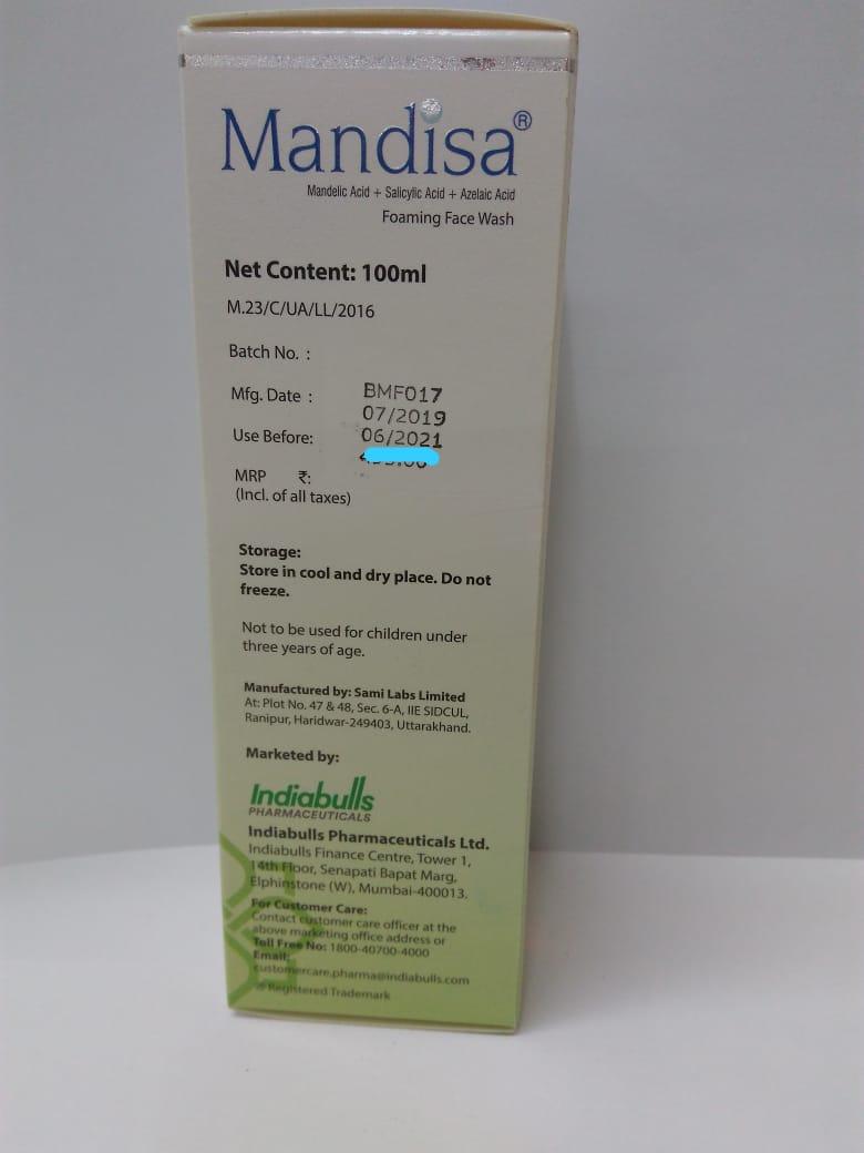 Mandisa Foaming Face Wash 100ml