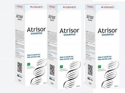 Atrisor Herbal Shampoo 200ml Pack Of 3