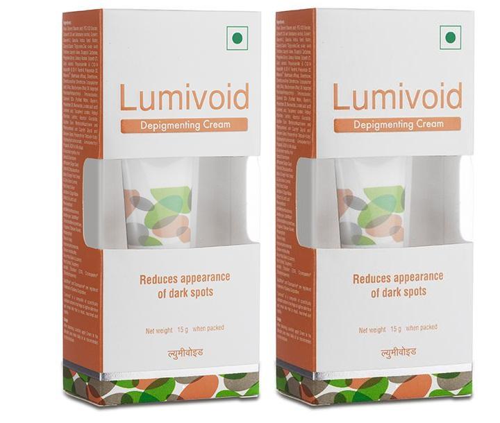 Lumivoid Depigmenting Cream 15g Pack Of 2