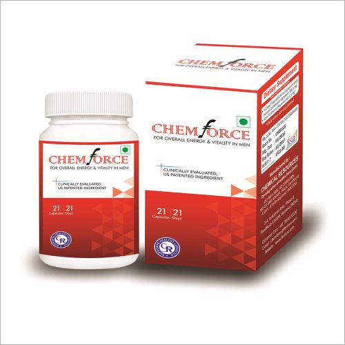 CHEMFORCE  Overall Energy and Vitality in Men  21 Capsules