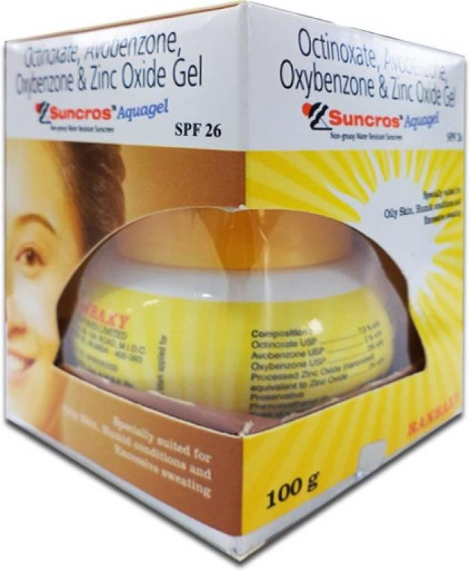 Suncros Aqua Gel  100 gm