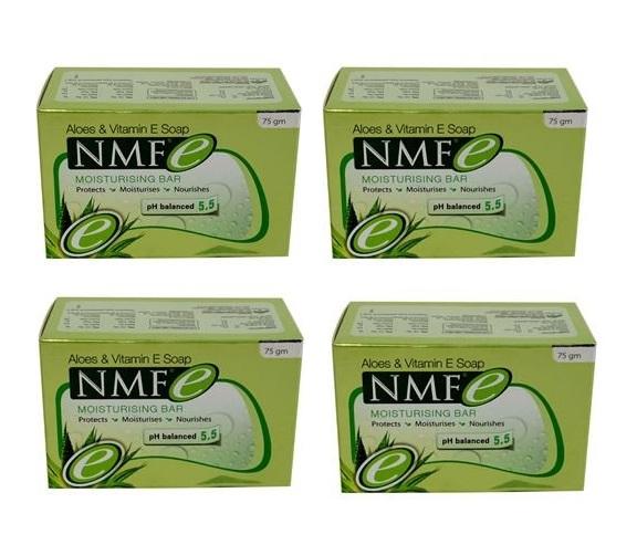 NMF e MOISTURISING bar pack of 4