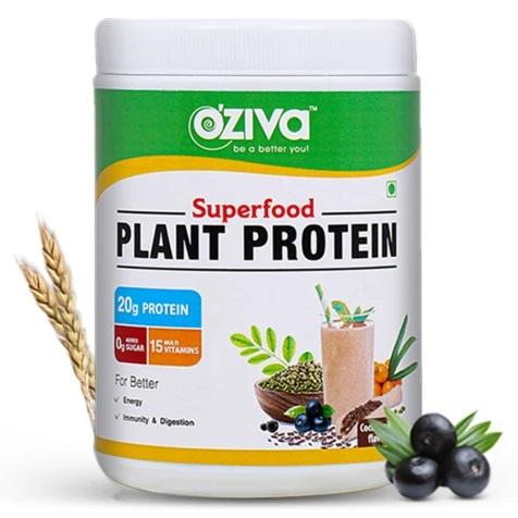 OZiva Superfood Plant Protein