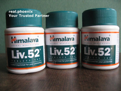 Himalaya Liv52 (100 tablets) - 5 bottle