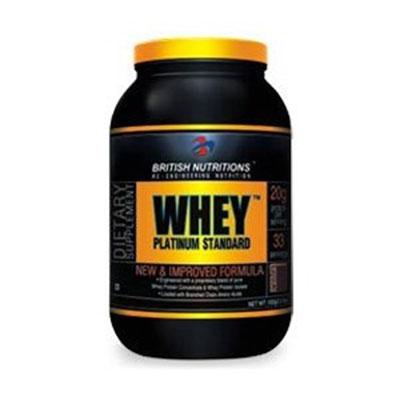 British Nutrition Whey Platinum Standard - 0.5 kg (Chocolate)