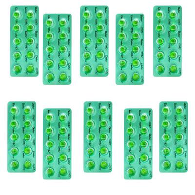 Dabur Pudin Hara Pearls 10 caps Pack Of 10