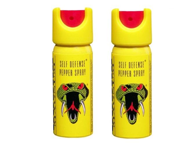 COBRA SELF DEFENCE PEPPER SPRAY Pack Of 2