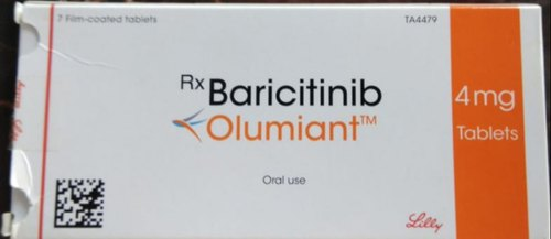Baricitinib Olumiant-4mg-strip-of-7-tablets