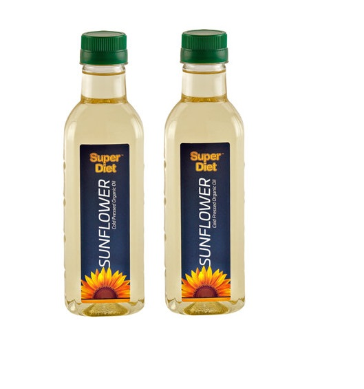 Super Diet Sunflower Oil  500ml Pack Of 2
