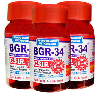 BGR 34 Tablets 100 s Pack Of 3