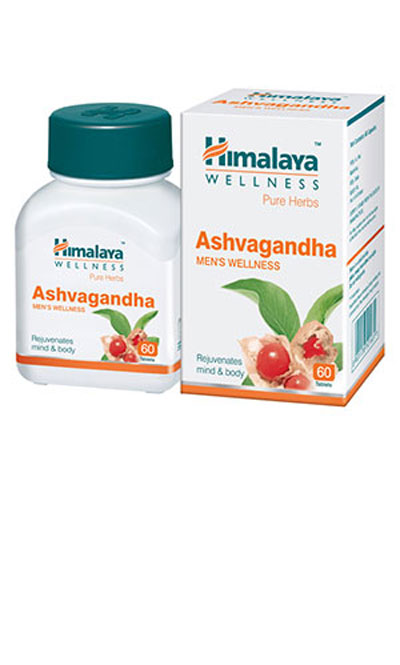 Himalaya Ashvagandha Caps 60s Pack of 4