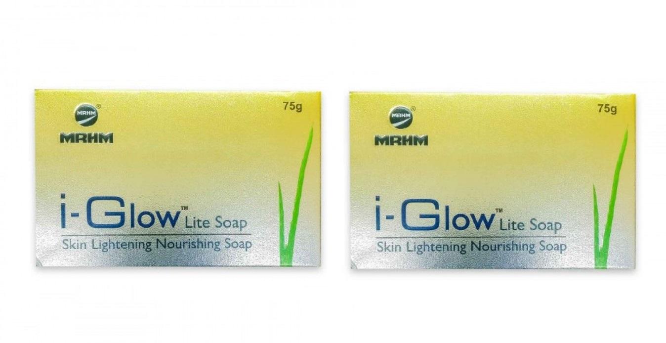 i GLOW Lite Soap 75g pack of 2