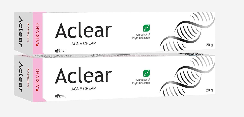 Aclear Anti Acne Cream 20gm, Pack Of 2