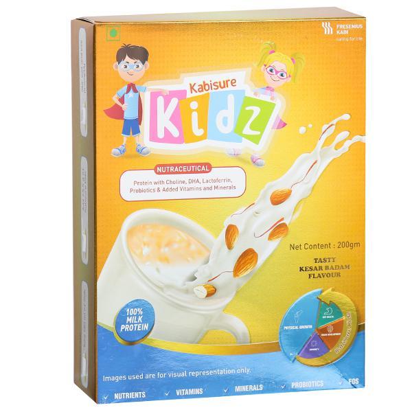 Kabisure Kidz Kesar Badam Flavour Powder 200 g