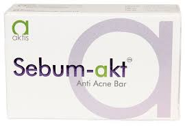 Sebum akt  Anti Acne Soap 75g pack of 3