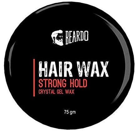 Beared HAIR WAX STRONG HOLD  CRYSTAL GEL WAX