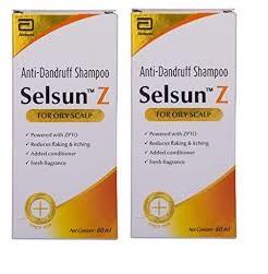 Selsun Z Anti Dandruff Shampoo 120ml Pack Of 2