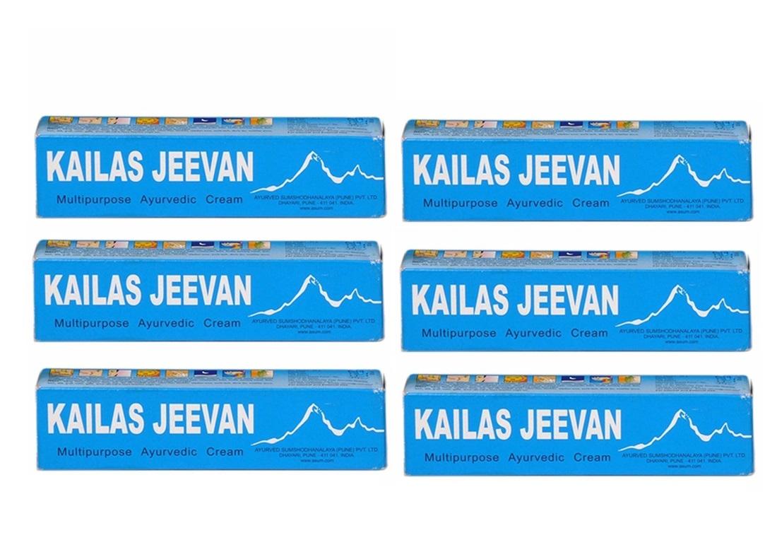Kailas Jeevan Multipurpose Ayurvedic Cream 20 gm  Pack Of 6