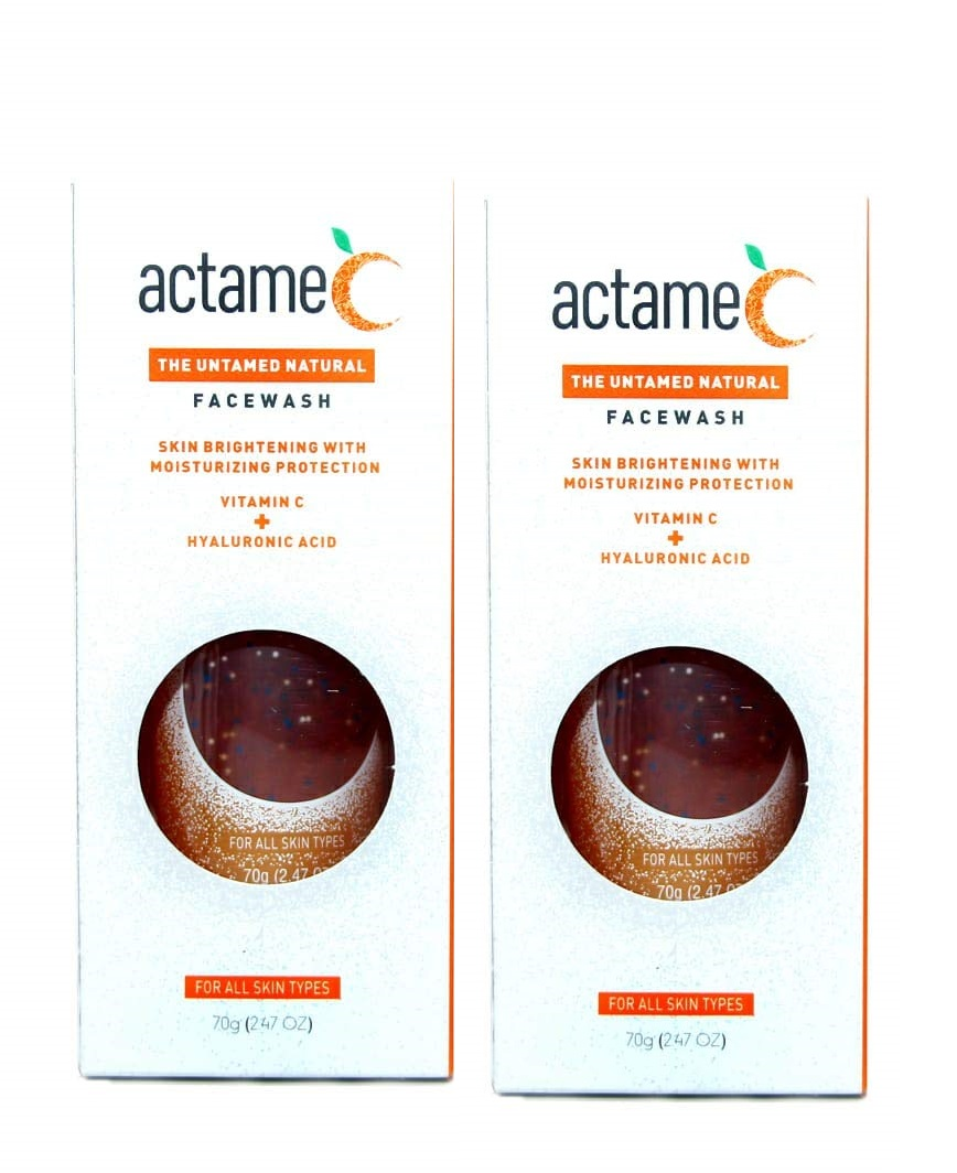 Actame C Face Wash 70g  Pack Of 2