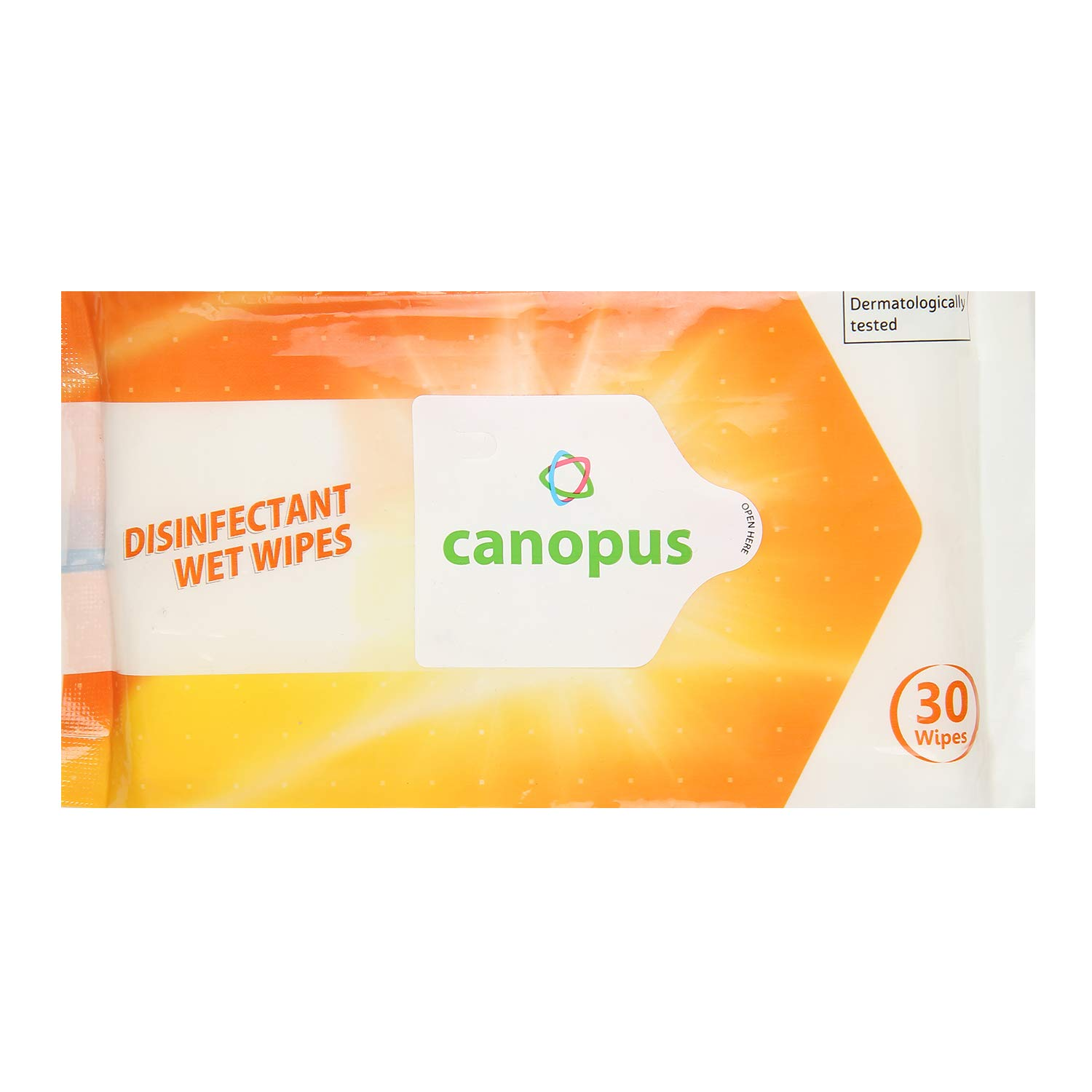 CANOPUS DISINFECTANT WIPES PACK OF 3