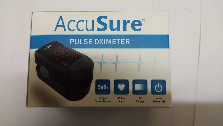 AccuSure Auto Power Off Pulse Oximeter