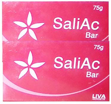 SaliAc Bar 75g Pack of 2